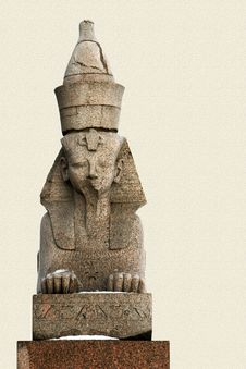 Free Granite Sphinx In Petersburg Stock Photo - 8615900