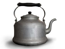 Free Aluminium Teapot Stock Photo - 8615950