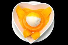 Free Mango Pudding Stock Photos - 8616123
