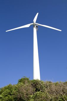 Free A Windgenerator Royalty Free Stock Images - 8616499