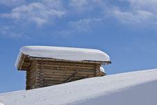 Free Mountain Landscape, Snow, Chalet Stock Photo - 8618880