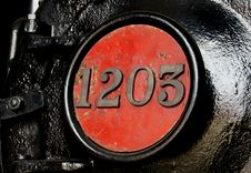 Free Train Numbers.NZ Railways. Royalty Free Stock Photography - 86174907