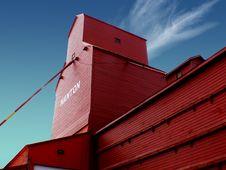 Free Grain Elevator Nanton Alberta. Royalty Free Stock Images - 86175019