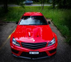 Free C 63 AMG Up Front Stock Photo - 86175190