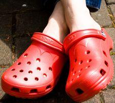 Free Crocs II - 20060520 - 002 Stock Image - 86175281