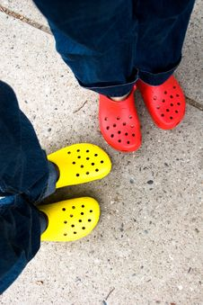 Free New Crocs Stock Images - 86175424
