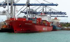 Free Port Of Auckland.NZ Royalty Free Stock Photo - 86175455