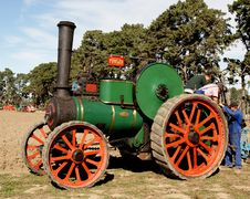 Free The Fowler Traction Engine Royalty Free Stock Photography - 86177287