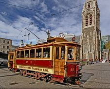 """Free Tram 11 """"The Boxcar"""" Royalty Free Stock Images - 86177329"""