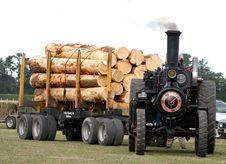 Free The Burrell Traction Engine &x28;11&x29; Stock Images - 86177364