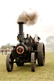 Free The Burrell Traction Engine &x28;5&x29; Stock Photo - 86177480