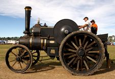 Free The Fowler Traction Engine &x28;2&x29; Stock Images - 86177504