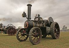 Free The Burrell Traction Engine &x28;7&x29; Stock Images - 86177534