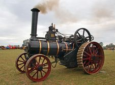 Free The Burrell Traction Engine &x28;6&x29; Stock Photo - 86177590