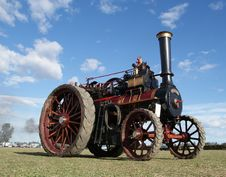 Free The Foden Traction Engine Stock Photo - 86177600