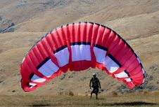 Free The Paraglider. Royalty Free Stock Image - 86178656