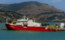 Free Araon Icebreaker Vessel Royalty Free Stock Image - 86178826