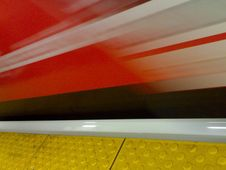 Free Blurry Skyte At Granville - Roland In Vancouver &x28;002&x29; Stock Photo - 86178970