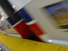 Free Blurry Skyte At Granville - Roland In Vancouver &x28;001&x29; Royalty Free Stock Photos - 86179098
