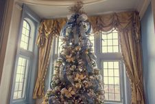 Free Christmas Tree, Window, Building, Christmas Ornament Royalty Free Stock Images - 86179449