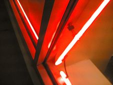 Free Red Neon At Atlanta Restaurant Stock Images - 86180434