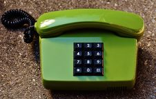 Free Push Dial Phone Stock Photo - 86183580