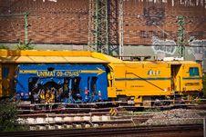 Free Railway Locomotive Engine In City Stock Photos - 86184683