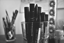 Free Close-up Of Markers On A Container Royalty Free Stock Photo - 86187695