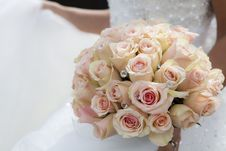Free Close-up Of Pink Rose Bouquet Stock Images - 86188054