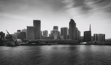 Free View Of City At Waterfront Stock Photography - 86188422