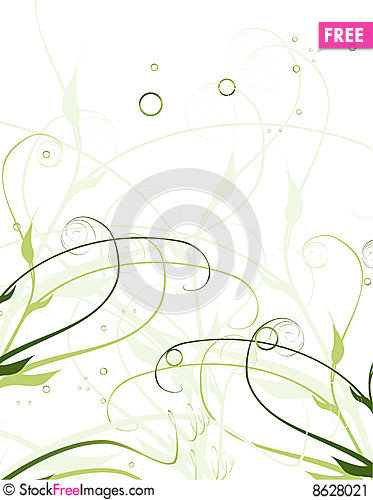 Free Nice Floral Background Stock Image - 8628021