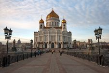 Free Cathedral Of Christ The Savior Royalty Free Stock Photo - 8620295