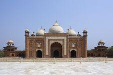 Taj Mahal Mosque Or Masjid Royalty Free Stock Image