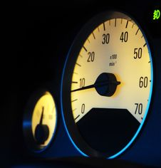 Free Odometer Royalty Free Stock Image - 8621266