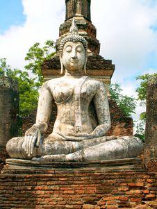 Free White Buddha Stock Image - 8621271