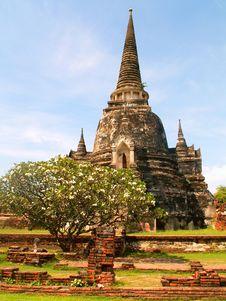 Free Wat Phra Si Sanphet Royalty Free Stock Photo - 8621325