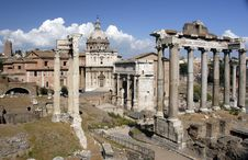 Free Rome Forum Stock Image - 8621891
