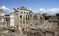 Free Roman Ruins Royalty Free Stock Photography - 8621927