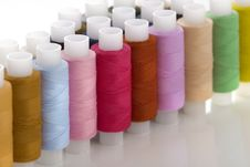 Free Colorful Spools Threads Stock Photo - 8622830