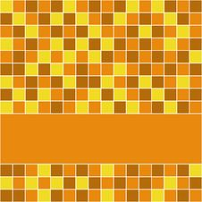 Free Orange Tiles Royalty Free Stock Image - 8623766