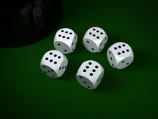 Free Dices Stock Images - 8623774
