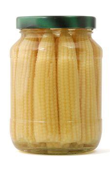 Free Baby Corns Royalty Free Stock Image - 8623856