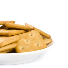 Free Cookies On Plate Stock Photos - 8623923