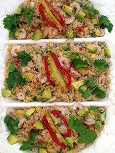 Free Seafood Salad Royalty Free Stock Images - 8624409