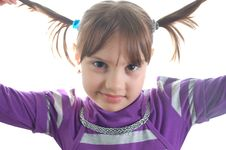 Free Little Cute Girl Royalty Free Stock Photography - 8624557