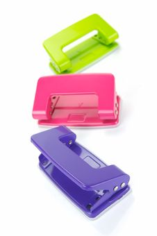 Free Hole Punches Royalty Free Stock Photography - 8624567