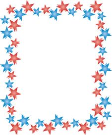 Free Stars Frame Stock Photo - 8624700