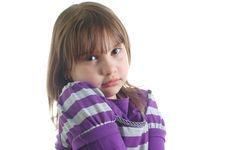 Free Sad Little Girl Stock Photos - 8624843