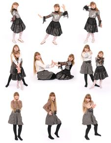 Free Two Girl Poses Royalty Free Stock Photography - 8624887