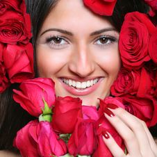 Free In Roses Royalty Free Stock Image - 8624986